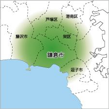 神奈川県店舗数地図